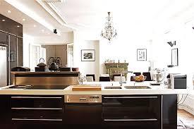 cuisine appartement parisien cuisine appartement haussmannien design d intérieur et inspiration