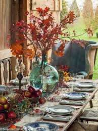 Fall Table Settings 30 Fall Wedding Table Settings Table Setting For A Fall Wedding