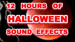 halloween continuous background halloween sound effects for 12 hours youtube