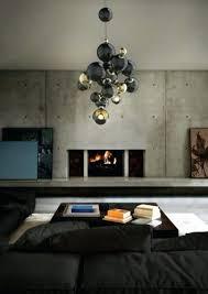 intérieur de la maison eclairage suspension design le