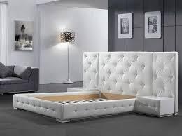 New Design Bedroom New York Nyc Modern Platform Bed Reims 1 699 00 Modern