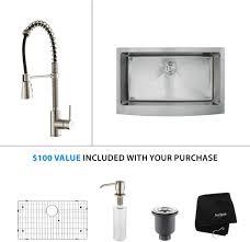 kitchen sink u0026 faucet combinations