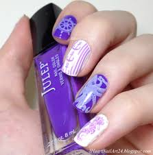 nautical nail art i heart nail art