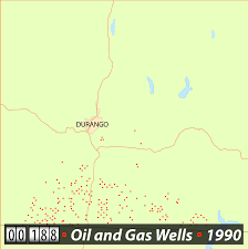 Colorado Population Map by Maps Shows Drilling Boom In Colorado U0027s Front Range Oil Fields