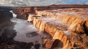 Arizona waterfalls images Grand falls arizona directions hikes and information jpg