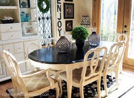 Espresso Dining Room Furniture Dining Room Table Makeover With Minwax Polyshades In Espresso