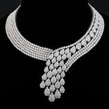white gold necklace set images Tufenkjian creatively designed and utterly stunning white gold jpg