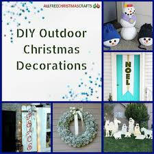 Outdoor Christmas Decorations Oversized by 16 Diy Outdoor Christmas Decorations Allfreechristmascrafts Com