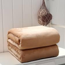 drap canapé 100 polyester épais en peluche microfibre jette solide couleur