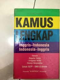 Kamus Bahasa Inggris Jual Beli Kamus Lengkap Bahasa Inggris Indonesia Indonesia