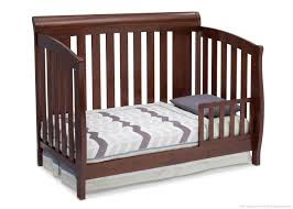 Delta Liberty Mini Crib From Crib To Toddler Bed 1 Delta Children Chocolate 204