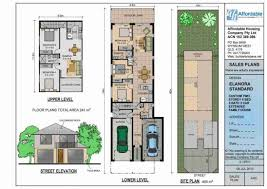 house plan for narrow lot stylish and peaceful 14 narrow lot 3 house plans
