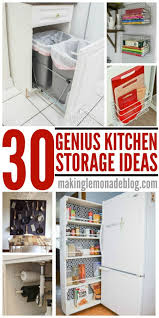Organizatoin Hacks 30 Genius Kitchen Storage Hacks Ideas Making Lemonade