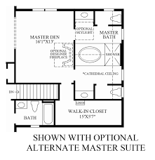 Master Suite Floor Plan Liseter The Bryn Mawr Collection The Harding Home Design