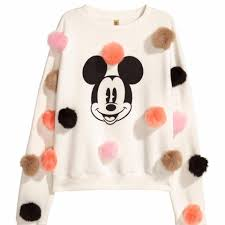 h u0026m is now selling this 24 99 pom pom mickey mouse jumper u2026 but