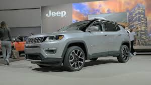 jeep compass trailhawk 2017 colors 2017 jeep compass is finally a compact crossover worthy of its