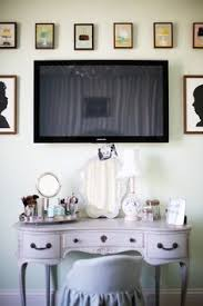 The Vanity Room Bedroom Cabinet And Makeup Table Built In I Want Sans Tv In The