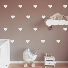 wall stickers home decor hearts wall stickers home decor