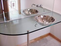 How Thick Do I Want Glass To Be For A Bathroom Vanity Top - Bathroom vanity top glue