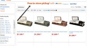 caskets prices funeralone archive walmart caskets and other spooky