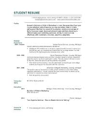 job resume sles for high students resume exles of resumes objectives