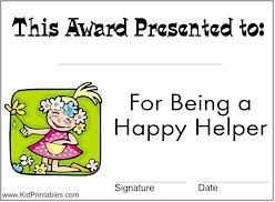 printable awards for kids