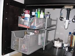 Under Cabinet Drawers Kitchen by Under Kitchen Sink Storage Ideas Find This Pin And More On Bajo