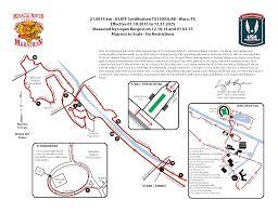Waco Map Half Marathon Route Miracle Match Marathon Waco Texas