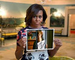 Meme Michelle Obama - tired of the drama michelle obama s bringbackourgirls sign know