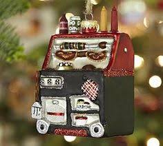 Pottery Barn Christmas Ornaments Sale trolley glass ornament pottery barn wish list pinterest
