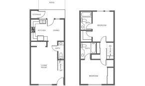 two story apartment floor plans 23 amazing small 2 story floor plans house plans 46014