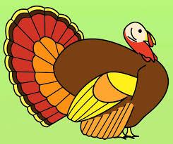 turkey color by number preschool free thanksgiving clip