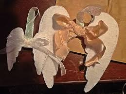 wing ornament craft diy fabric wings for every day