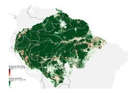 Amazon World Map by These 7 Maps Shed Light On Most Crucial Areas Of Amazon Rainforest