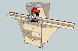 Table Saw Stand With Wheels Miter Saw Station 7 Steps With Pictures