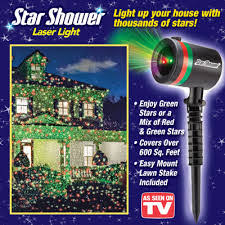 as seen on tv christmas lights as seen on tv shower indoor and outdoor laser light show as