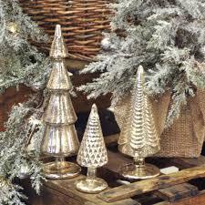 mercury glass topiary pine tree piper classics