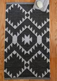 Black And White Bathroom Rugs Designer Bath Rugs And Mats Foter