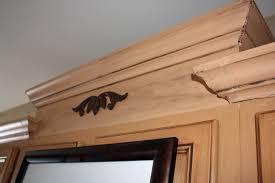 crown molding under kitchen cabinets
