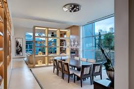 shelf dividers in dining room contemporary with cool room dividers