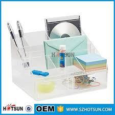 Acrylic Desk Accessories Office Accessories Clear Acrylic Desk Set Desk Organizers