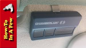 stanley garage door opener remote how to replace your garage opener remote battery youtube