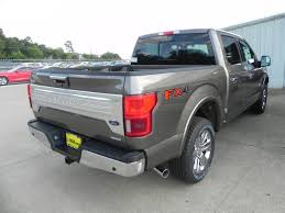 2018 ford f150 king ranch 5 miles stone gray crew cab pickup twin