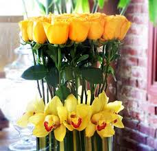 flower arrangement ideas yellow flower centerpieces and table decoration ideas