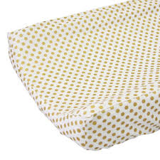 changing pad cover gold dot caden lane
