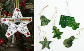 17 recycled craft ideas for tree ornaments