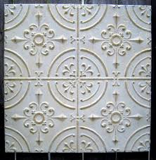 interior fascinating vintage tin ceiling tiles antique white