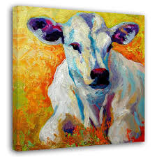 Cow Home Decor Cow Art Canvas Chinese Goods Catalog Chinaprices Net
