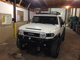 jeep light bar bumper fj cruiser with metal tech bumper and light bar vehicles