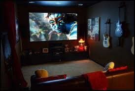 how to decorate home theater room contemporary home theater with